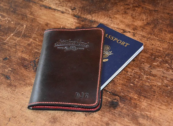 Leather Head Chromexcel Passport/ Field Notes cover