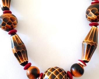 Celluloid Necklace VIntage 20s Art Deco
