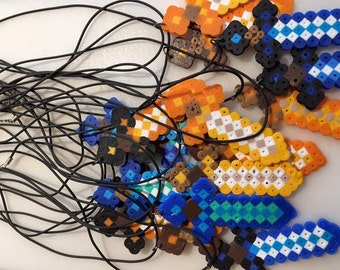 MineCraft Sword Necklace Favor Party Pack (8)