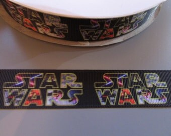 Star Wars Grosgrain Ribbon x 1 metre