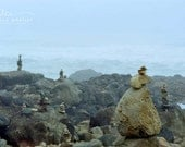 stone stacking, rock stack photo, stacked stones, zen stone stack, stacked stone art, beach stone photo, Oregon beach photo, zen rock photo