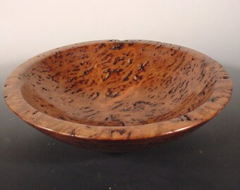 Gummy Australian Gimlet Burl Wood Bowl Turned Wood Bowl Number 6242