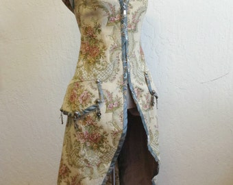 Fairy Coat/ Small to Medium/Adjustable Back /Costume or Special Occasion/Weddings/Woodland/Cosplay