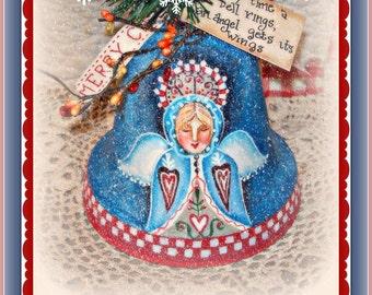 Apple Tree Cottage Original Design E Pattern - Snow Angel Bell
