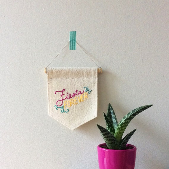 Wall Decor Home Party : Fiesta forever wall hanging party decor decorations