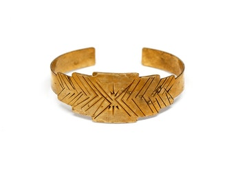 Sunburst Cuff Bracelet