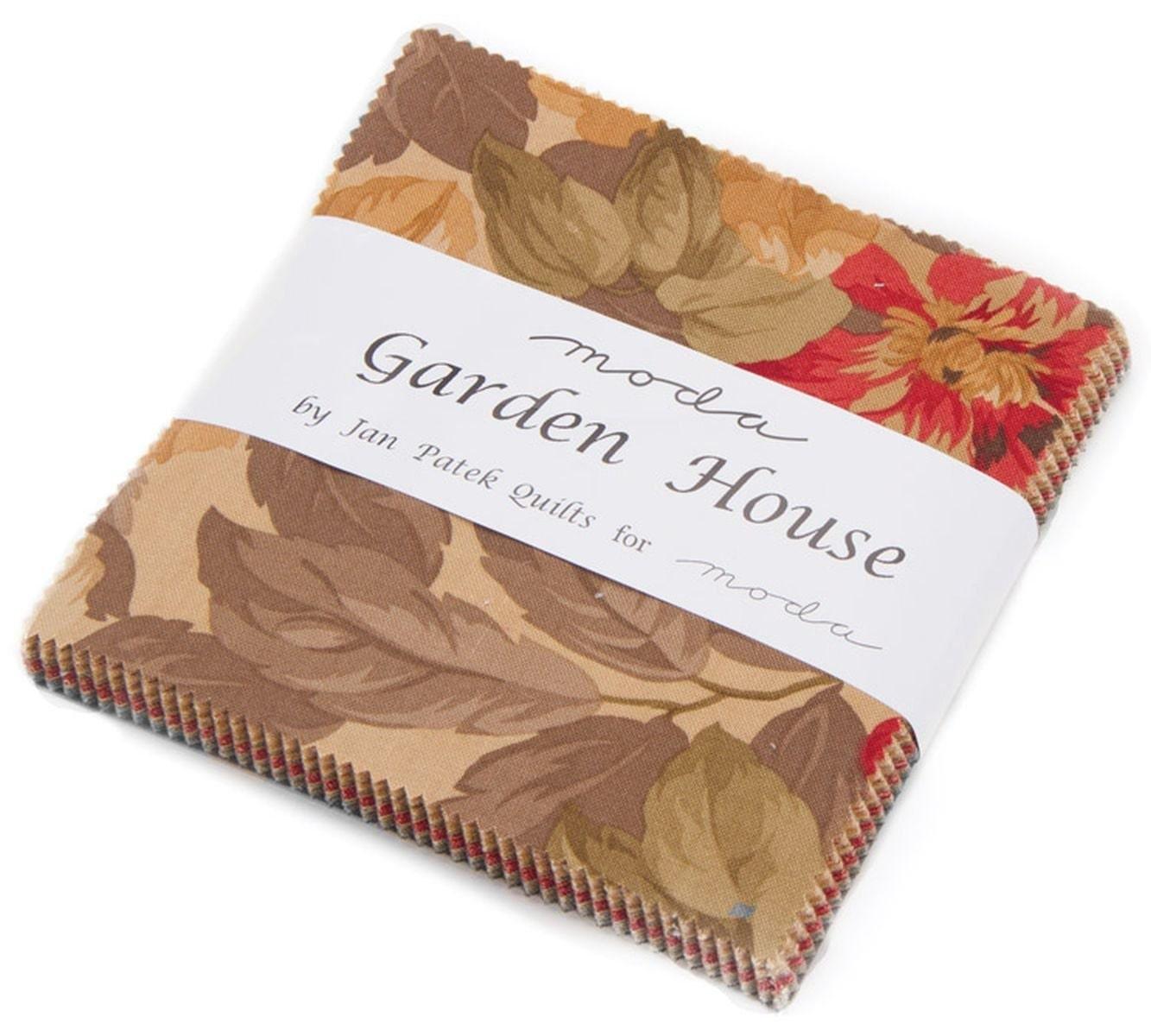 Garden House Moda Charm Pack 42 5 Precut Fabric Quilt