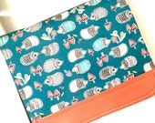 A special order for Cindy  hedgehog satchel by missy mao mao on etsy