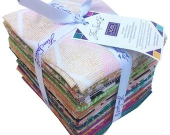 Joel Dewberry CALI MOD Fat Quarter Bundle 24 Precut Cotton Fabric Quilting FQs Free Spirit