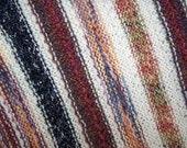 Long shawl with fringe, lap robe