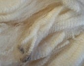 Merino sheep locks Wool for spinning, clean and raw, ready to spin, spinning fiber, roving 1 oz