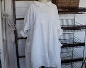Soft Light Weight Linen Dress One Size Fits Most