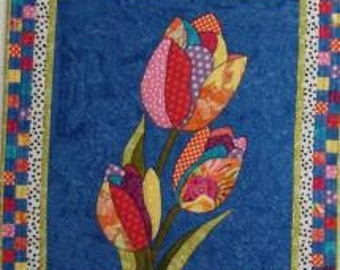 Sprin Tulips pattern by BJ Designs
