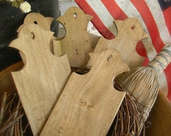 Wooden Keystone Paddle - for your finished needlework - from Notforgotten Farm™