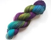 Superwash wool/polyamid sock yarn - Dragonfly