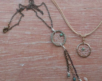 Delicate Dream Catcher Necklace