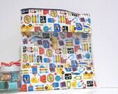 Extra Large Bag w/ window School Supplies Craft Bag Travel Bag