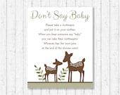 Cute Deer Don't Say B...
