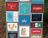 "Lisa Franken - CUSTOM Order - FINAL payment on childhood quilt- ""nose to toes"" nap quilts approx - - 65""L x 55""W"