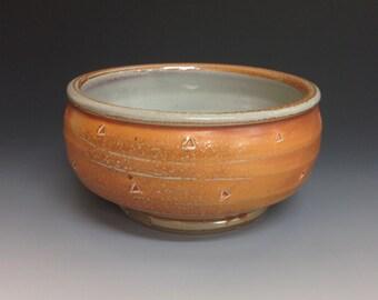 Handmade Bowl. Soda Fired Stoneware Pottery