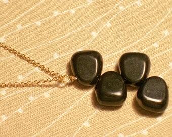 Onyx Pendant Necklace