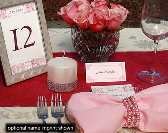 Aubrey Menu, Table Marker & Place Card Set