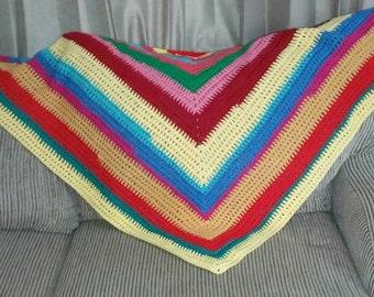 Cotton Hippy One of Kind Shawl