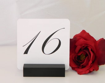 Table Number Holder + Black Table Number Holder (Set of 11) ON SALE
