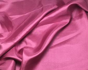 ANTIQUE ROSE China Silk HABOTAI Fabric - 1/2 Yard