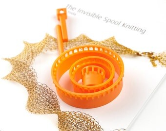 Jewelry Loom , Wire crochet ISK invisible spool knitting loom , beading loom, Wire crochet looms, Wire mesh loom, Wire knitter