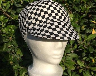 Cycling Cap // Checkered