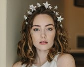 Star double wedding headpiece - Comic Beauty no. 2146