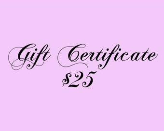 Gift Certificate 25 Dollars for Kauai Art or Art Classes on Kauai