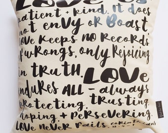 Love Is... - Pillow Cover