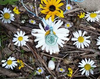Turtle Flower Of Life Essential Oil Diffuser Pendant
