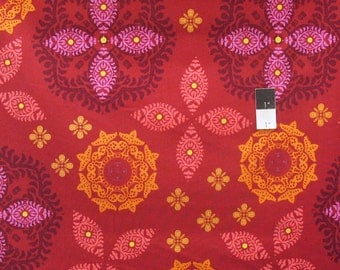 Ty Pennington PWTY031 Abbey Sunset Cotton Fabric By The Yard
