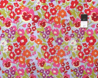 Nel Whatmore PWNW036 Secret Garden Hedgerow Denim Cotton Fabric By Yard