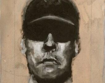 Male Portrait Study (2432)