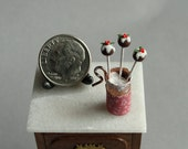 Dollhouse Miniature Food Cake Pops