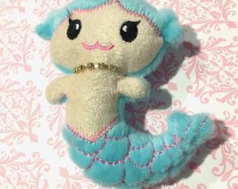 Mermaid Girl Toy Hair Barrette