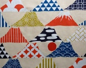 Special Order for Ms. L.:  Funky Fuji Cotton Fabric, 4 meters