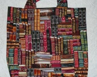 Market Bag - Book Theme