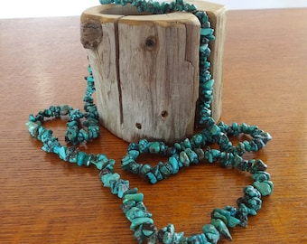 Vintage, Natural Turquoise Nugget, Necklace