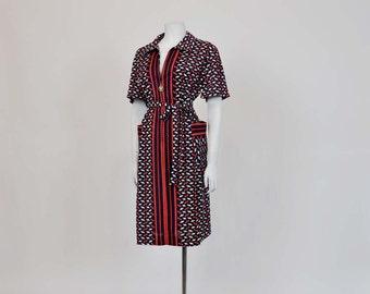 60s Vintage dress /  Mod Vintage 1960's Scooter Girl Dress