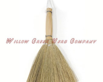 Baguio Reed Altar Broom-Natural-6 inch