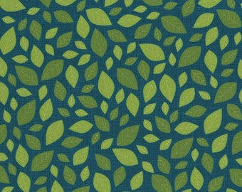RJR Fabrics Lily's Garden 2027 2 Green Tonal Leaves by the yard