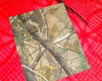 Drawstring Bag in Camo Print from The Farmer's Daughter