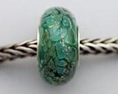 OOAKK Silver Veil Bead - European Charm Bracelet Bead (SEPT-100)