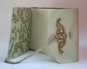 Ivory Leather Photo Album /Holds 30 Photos / Perfect wedding gift / Bride's gift