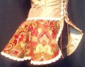 Victorian Style corset Peplum.